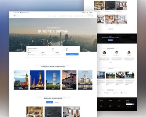 Real Estate Website Template Psd Download Download Psd One Page Real Estate Website Templates