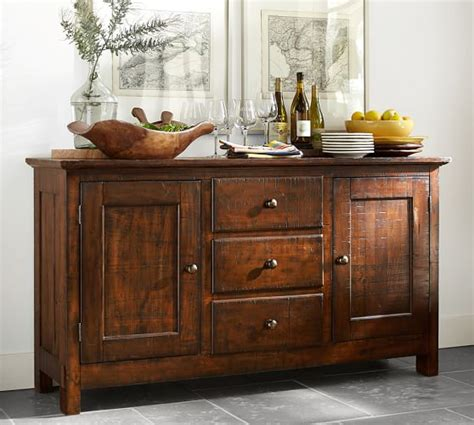 Benchwright Buffet   Pottery Barn
