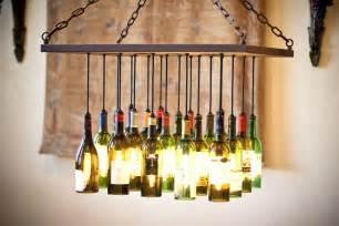 Wine Bottle Light Fixture Chandelier Custom Wine Bottle Chandelier By By Gordon Living Custommade