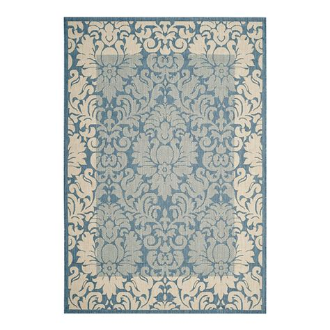 ballard indoor outdoor rugs damask bordered indoor outdoor rug ballard designs