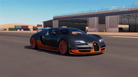 bugatti veyron top speed forza horizon 3 bugatti veyron sport top speed