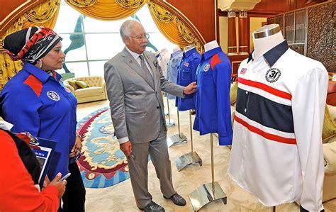 kemerdekaan malaysia 2016 memilih pakaian rasmi ahli jemaah menteri bahang