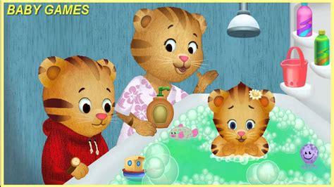 daniel tiger bathroom song daniel tiger baby bath full episodes baby games youtube