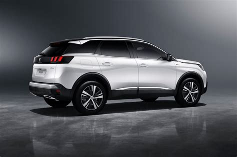 peugeot 3008 white 2017 the new peugeot 3008 suv arrives in showrooms january 2017