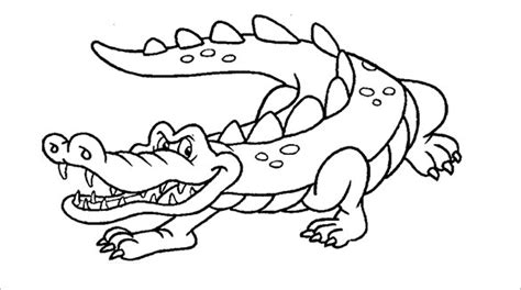 template of crocodile 21 alligator templates crafts colouring pages free