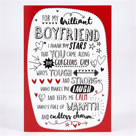 valentines day cards for boyfriend templates s day card boyfriend thank my card factory
