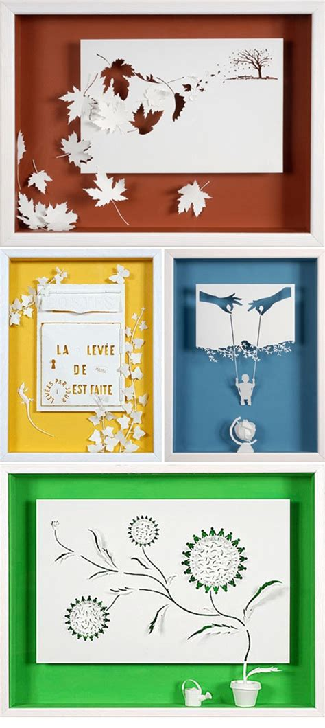 Paper Cut Crafts - 10 easy paper cutting crafts for beginners
