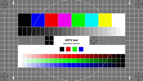 pattern test sound test pattern tv glitch and flickering tv signal stock