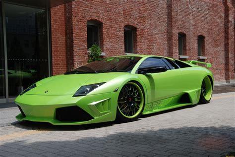 Lamborghini Murcielago Green Lamborghini Murcielago Supercar Green Tuning Wallpaper