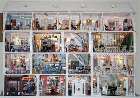 Amazing Blogs On Miniature Dollhouses by Showcasing Marianne Stengel S Dollhouse