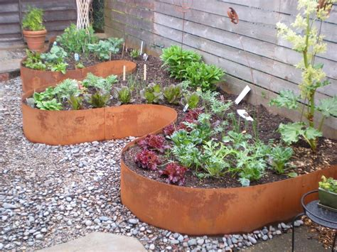 Curved Garden Planters by Fern Planters Landscape With Modern