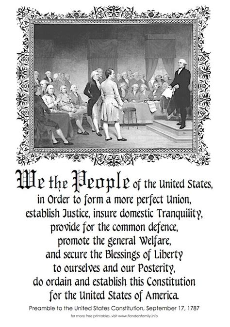 printable picture of us constitution 1000 images about history is interesting on pinterest