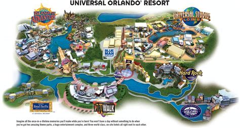 Map Of Universal Orlando by Beginning To Plan Your Perfect Universal Orlando Vacation