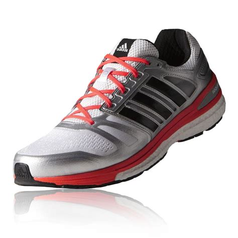 adidas road running shoes adidas supernova sequence 7 mens white sneakers support