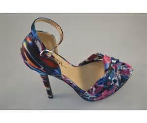 multi colored sandal heels multi colored peep toe sandals heels