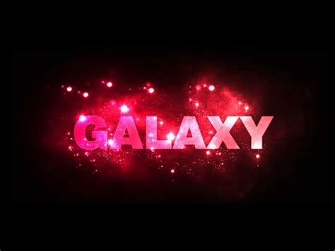 photoshop cs tutorial text effect galaxy font design