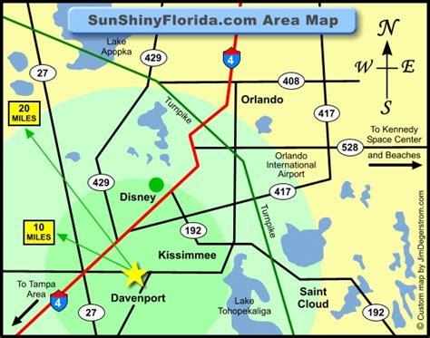 central florida orlando area map map of magic kingdom orlando