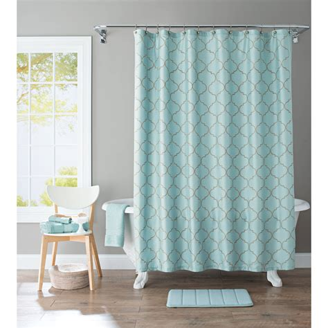 Curtain Shower Curtain Rings Walmart Walmart Shower Walmart Bathroom Shower Curtains