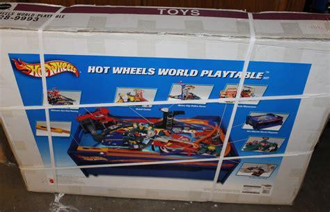 wheels play table wheels table set model vehicle sets hobbydb