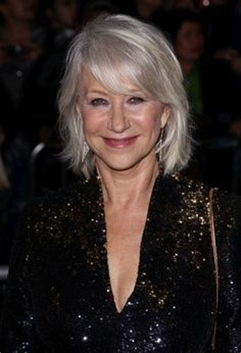 Did You Helen Mirren Carried Around 250000 At The Oscars by Hair On Thick Hair Medium Hairstyles And