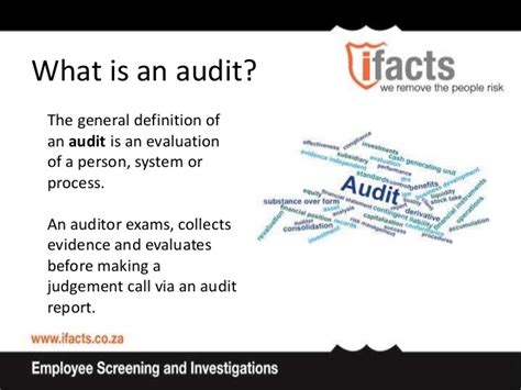 an auditor fooling the auditor understand the risk