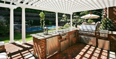 outdoor kitchen ideas on a budget an outdoor kitchen on a budget newsday