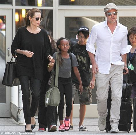Pitt And Will Adopt Child Number Four by Brad Pitt And Adopted Www Pixshark