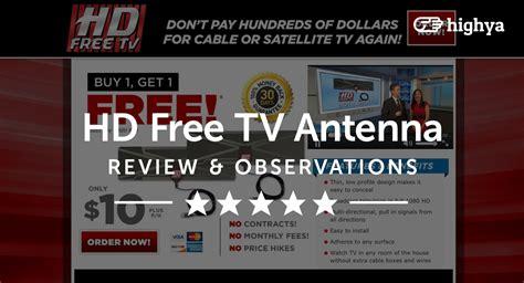 hd  tv antenna reviews    scam  legit