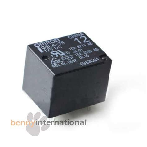 Relay 12v 10a Omron 5v 12v 24v omron power relay 10a g5la pcb spdt arduino