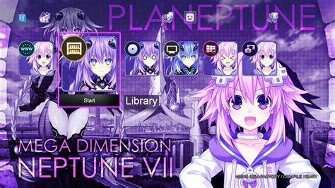 Bd Ps4 Megadimension Neptunia V Ii Ps4 Gets New Theme For Hyperdimension Neptunia