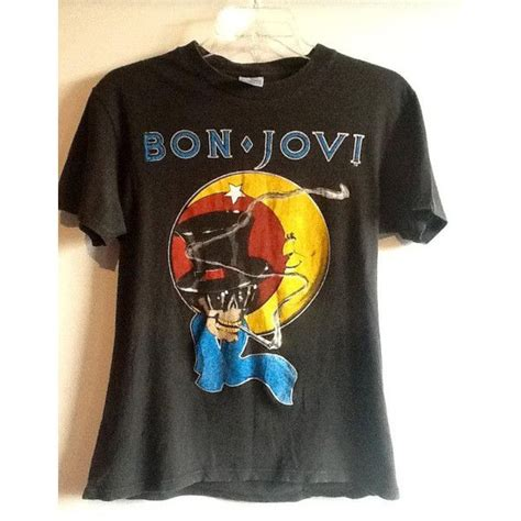 T Shirt Bonjovi 2 vintage 1987 bon jovi rocks your vintage rock t