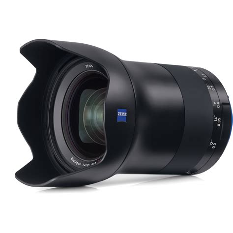 Cctv Zeiss zeiss milvus 25mm f 1 4 ze lens for canon ef 2096 551 b h photo