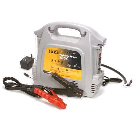 jazz portable power 300 w air compressor 300w inverter jump starter qvc