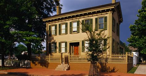 lincoln home national historic site travelthepast com illinois pictures illinois history com