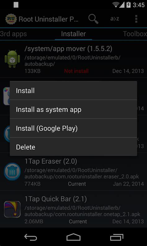 root uninstaller pro apk root uninstaller pro apk android tools apps