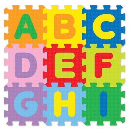 Karpet Gambar jual evamat karpet puzzle gambar angka huruf binatang