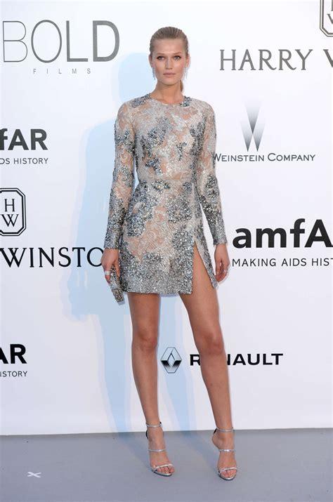 Eonni Dress toni garrn in elie saab couture at amfar s 23rd cinema