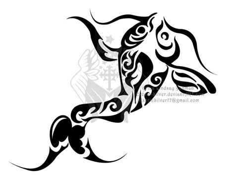 tribal koi tattoo tribal koi fish tattoos tribal koi fish by