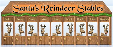 hyatt extreme christmas reindeer stables 2017