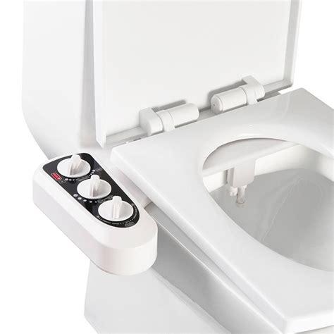bidet toilet seat attachment with dual nozzles self cleaning nozzle mechanical bidet toilet attachment