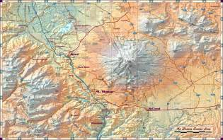 mt shasta scenic area map mt shasta ca mappery