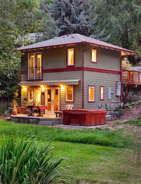 Small Home Oregon Design Dans Une Cabane 224 233 Tage Prenons Le Temps