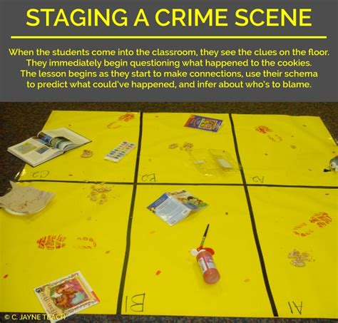 investigating the mystery genre scholastic com 4th 17 best images about staging a crime scene murder mystery