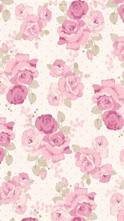 Kaligrafi Shabby Chic Pink floral wallpaper image 2815682 by patrisha on favim