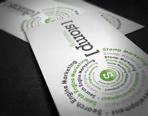 business cards marketing unique business card stomp marketing cardrabbit
