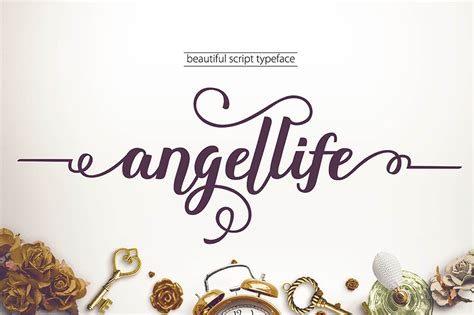 new design font free download angellife font free design resources