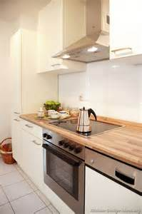small kitchen idea of the day white cabinets and tile