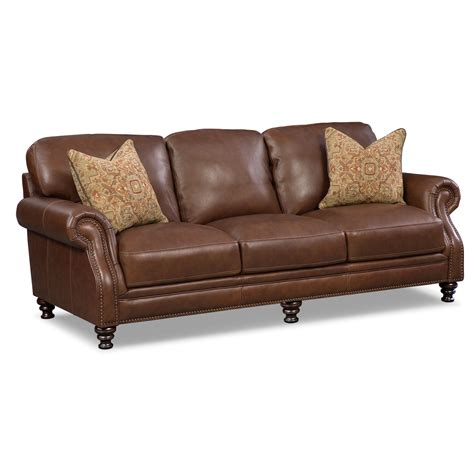 american signature leather sofa sofas leather living room furniture american signature furniture