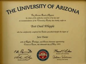 Professional Degree List Mba Jd by Las Vegas Nevada Attorney Bret Whipple Professional