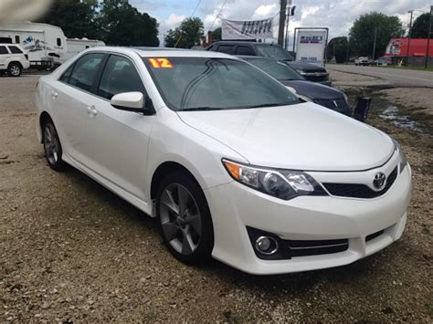 2012 toyota camry sport 2012 toyota camry se sport limited edition 4dr sedan in